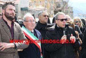 8-03-2014 Inaugurazione  monumento a Cilla