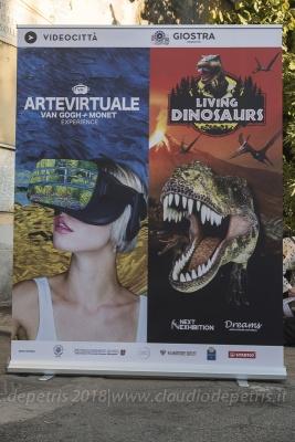 Roma 8/10/2019 Arte Virtuale, Van Gogh+Monet experience
