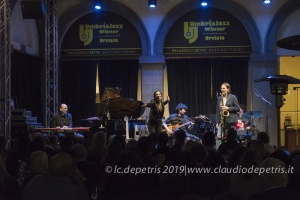 Greta Panettieri 4th, Umbria Jazz Winter 2109, Orvieto Palazzo dei Sette 29/12/2019
