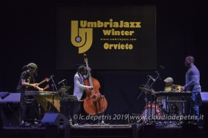 Joel Ross/Warren Wolf 4th, Umbria Jazz Winter 2019, Orvieto Palazzo Mancinelli 29/12/2019