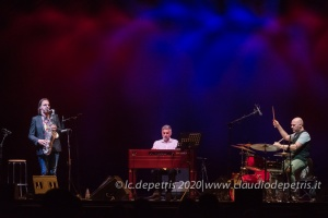 Max Ionata Hammond Trio, Casa del Jazz 28/7/2020