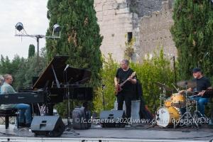 Roberto Gatto Perfect Trio, tomba Cecilia Metella !9/9/2020
