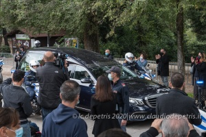 Roma Funerale Gigi Proietti 5/11/2020