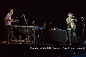 Gianluca Petrella-Pasquale Mirra, Casa del Jazz 12/6/2021
