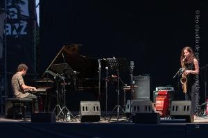 Seby Burgio-Sophia Tomelleri Casa del Jazz 21/6/2021
