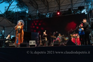 Gonzalo Rubalcaba-Ayméè Nuviola Band, Casa del Jazz 6/7/2021
