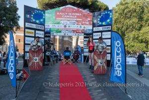 Roma 23/7/2021: Nona edizione Rally di Roma Capitale 2021