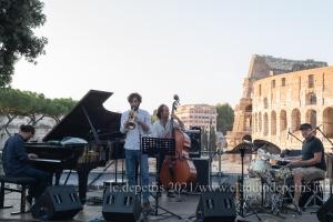 Roberto Gatto 5th, Parco del Celio-Jazz & Image 17/8/2021