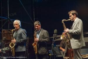 saxophone summit casa del jazz 30/6/2013