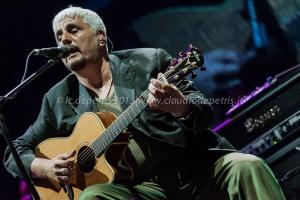 """Pino Daniele e Orchestra Roma Sinfonietta """"Sinfonico"""" Centrale live Foro Italico Roma 10/7/2013"""