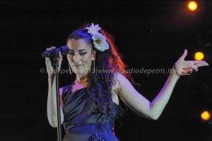 "Nina Zilli, Fabrizio Bosso ""We Love You Jazz'n Soul"" Tour Villa Ada 14/7/2013"