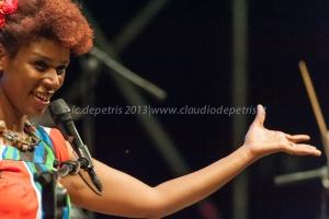 "carmen souza quartet ""kachupa tour"" casa del jazz 12/7/2013"