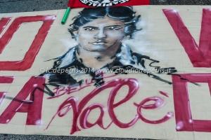 manifestazione per valerio verbano 22/2/2014