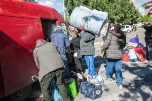 sgombero palazzo inarcassa montagnola 16/4/2014