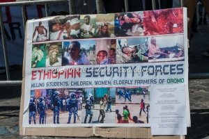 Smettete di uccidere gli studenti Oromo, piazza s.s. Apostoli 9/5/2014