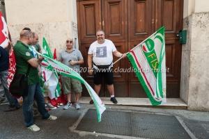 manifestazione dipendenti auselda aed group 12/6/2014