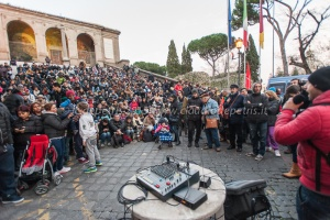 Assemblea pubblica dei movimenti dell'abitare in piazza del campidoglio 15/1/2015
