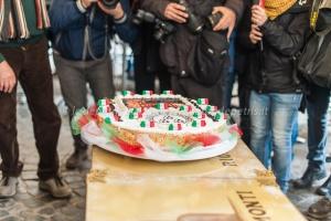 Monti festeggia Napolitano 17/1/2015