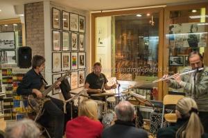 """""""Buonasera Roma Bonjour Paris"""" concerto trio stilo-roche-puglisi 13/3/2015 al Fox Gallery"""