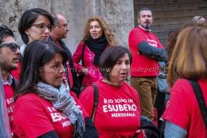 Sit in lavoratori Meridiana 9/4/2015