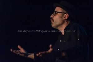 """Danilo Gallo quartet live """"Dark Dry Tears"""", Auditorium Parco della Musica 30/3/2015"""