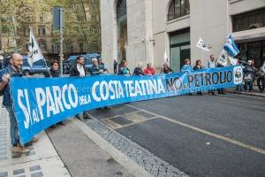 Manifestazione 'No Ombrina' al MISE 14/10/2015