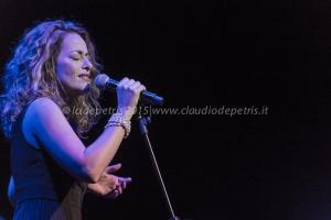 Pilar in concerto all'Auditorium Parco della Musica, 6/11/2015