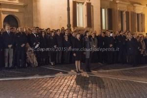 Il Parlamento italiano commemora le vittime di Parigi, 16/11/2015