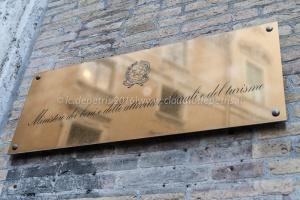 Presidio di CGIL-CISL-UIL al Ministero dei Beni Culturali 1/2/2016