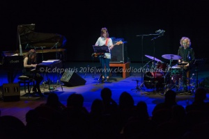 Chihiro Yamanaka trio in concerto all'Auditorium, 17/4/2016