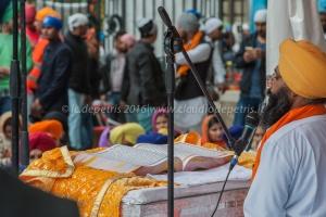 I Sikh celebrano il Vaisakhi a Roma in piazza Vittorio, 24/4/2016