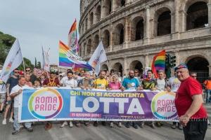 Gay Pride parade 2016, Roma 11/6/2016