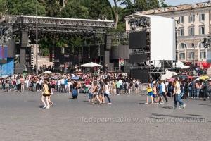 Coca Cola Summer Festival 2016, Roma 23/6/2016