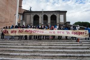 Roma non alza i Muri, 11/10/2016