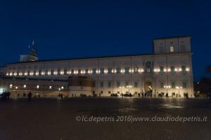 Palazzo del Quirinale 05/12/2016