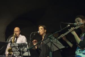 """marcello allulli, greta panettieri, valeria desideri """"trio pixi"""" music inn 7/3/2012"""