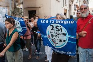 Roma: Manifestazione contro lo sfratto del Rialto 13/6/2017