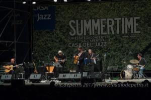 Piji in concerto alla Casa del Jazz, 3/8/2018