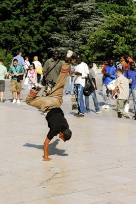 break dance, papy dance parigi