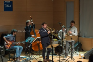 """F.A.R.E."": Fourneyron/Arcelli Residence Ensemble in concerto, 23/9/2107"