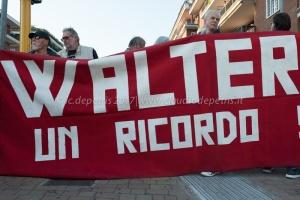 "Roma 30/9/2017 "" Walter vive"""