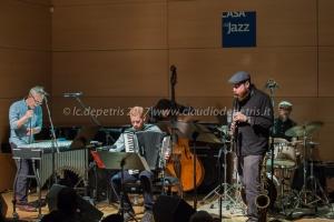 The Claudia 5th in concerto, Casa del Jazz 1/11/2017