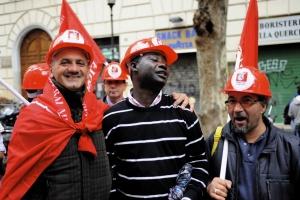 manifestazione fiom 16/10/2010