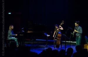 Federica Michisanti Trioness in concerto all'Auditorium il 19/9/2018