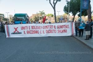 Roma 10/11/2018, manifestazione nazionale contro il razzismo