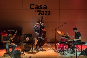 Jacopo Ferrazza Trio, Casa del Jazz 14/3/2019