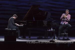 Fabrizio Bosso-Julian Oliver Mazzariello Casa del Jazz 31/7/2019