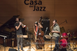 Federica MIchisanti Trio Casa del Jazz 10/9/2019