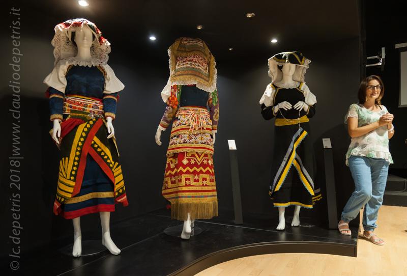 Visita al Museo dei Costumi del Molise, 16/9/2018