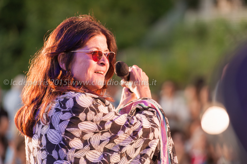 Maria Pia De Vito e Rita Marcotulli in concerto al Ponte della Musica 21/6/2015